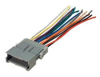 Car Stereo Radio Receiver Install Wiring Harness Plug For Installing