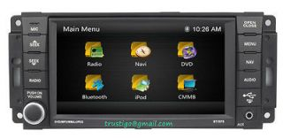 10 Jeep Wrangler In dash GPS Navigation Radio DVD Stereo Install Deck