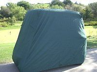 Golf Cart Cover, Green, *Will Not Fit Carts with Extended Roo