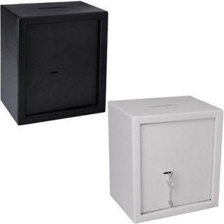 Small Office Depository Drop Slot Safe Box Key Lock 06SAF013 SLOT2 5K