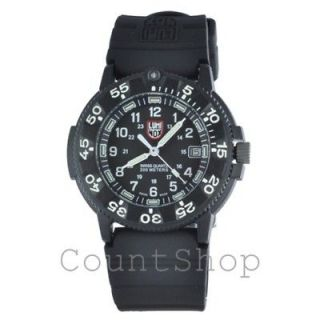Luminox 3001 Black Navy SEAL Dive Watch (43mm Dial) NEW