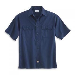 Carhartt S223 Short Sleeve Twill Work Shirt