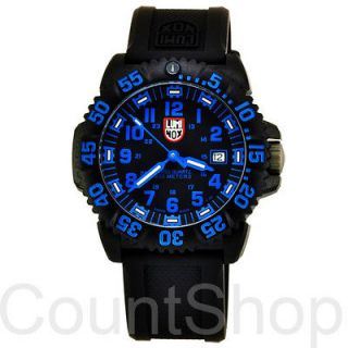 Luminox Navy Seal Colormark 3053  Black Rubber  Date  44mm  200M