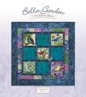 Art Quilt Pattern ~ BELLA GARDEN   EVENSONG ~ Block Four by McKenna