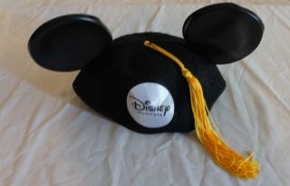 Disney Adult Black Gold Tassel Disney Institute Mickey Mouse Ears