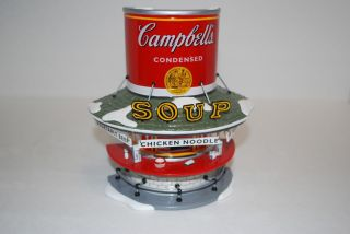 Dept 56 Snow Village Campbells Soup Counter New in Box