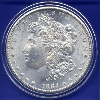 1884 CC Morgan Silver Dollar BU Gem Rare Key Date Uncirculated MS US