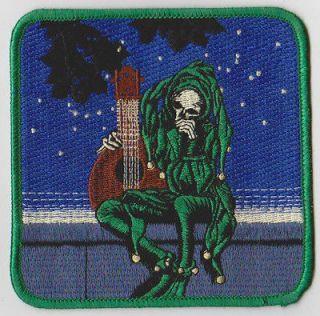 NOS vtg GRATEFUL DEAD Stanley Mouse JESTER 4 Embroidered iron on
