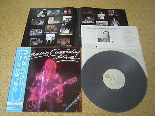 Newly listed Shaun Cassidy Live ~ Thats Rock N Roll/ Japan LP/ OBI