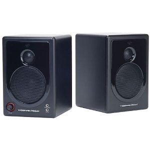 Cerwin Vega Home Audio Xd3 2 Way Powered Desktop Speakers