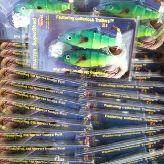 Newly listed Closeout 72 Pc Case Chatterbait Super Shad Musky Striper