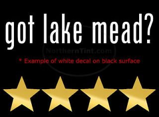 got lake chelan? Vinyl wall art truck car decal sticker