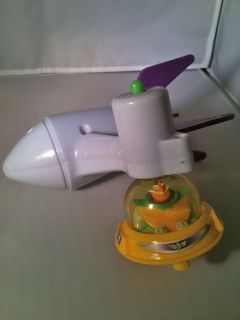 McDonalds 2001 Disney Toy Story Buzz Lightyear Booster Launch Toy