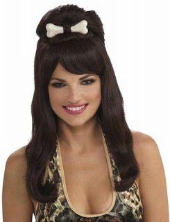 Prehistoric Princess Cavewoman Wilma Flintstone Women Costume Wig
