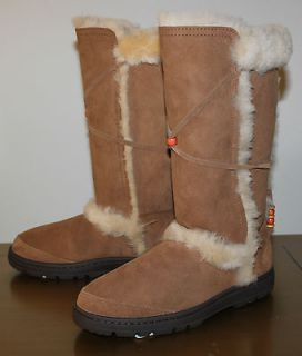 UGG Nightfall Tall Chestnut Boots Beads Discontinued Women US 9 NIB