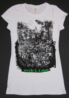 SUBLIME Womens Juniors T shirt What I Got Tee LBC Ska Punk Long Beach