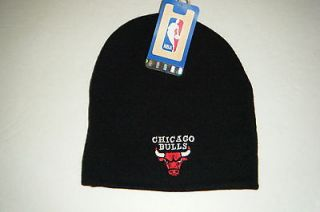 Chicago Bulls vintage authentic beanie / toque knit hat new with tags