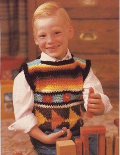 Free Boys Vest Pattern – Catalog of Patterns