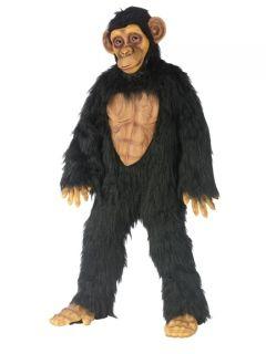 Kids Chimpanzee Monkey Animal Chimp Halloween Costume