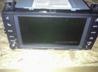 OEM jEEP GRAND CHEROKEE DODGE DURANGO MyGig Radio RBZ HIGH SPEED
