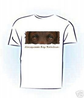 Chesapeake Bay Retriever  The Eyes Have It  Tshirt
