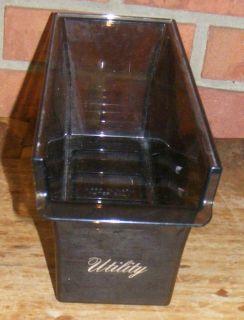 Vintage Refrigerator / Freezer Plastic Utility Container