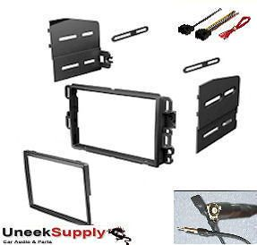 2001 2012 GM Chevy Double Din Dash Kit Radio Stereo Installation