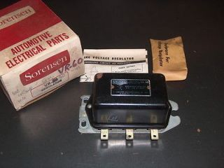 SORENSEN VR 60 6 VOLT 42 47 AMP VOLTAGE REGULATOR BUICK CADILLAC CHEVY