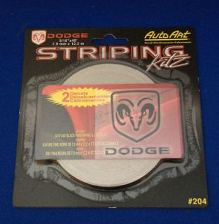 NEW AUTO ART CHROMA GRAPHICS DODGE STRIPING KIT PINSTRIPING DECAL