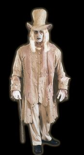 Ghostly Man Scrooge Halloween Costume Fancy Dress