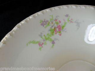 Depression Era CROOKSVILLE China SPRING BLOSSOM Large Serving Bowl