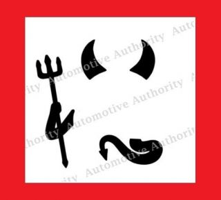 chrysler crossfire decals