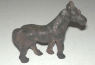 Rare Vintage Mini Cast Iron Horse