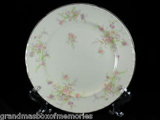 1930s Depression Era CROOKSVILLE China SPRING BLOSSOM Luncheon Plate