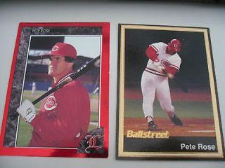 Pete Rose Cincinnati Reds #1 Legends Sports Memorabilia Ballstreet