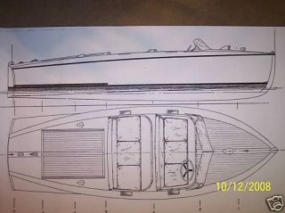chris craft style barrelback boat model boat plans