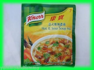 KNORR CHINESE HOT & SOUR SOUP MIX   USA SELLER