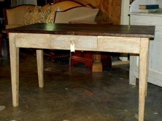 French antique farm table,circa 1850 # EB T1754