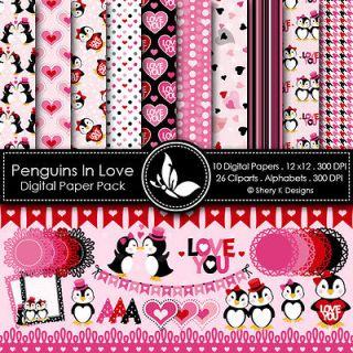 penguin in Scrapbooking & Paper Crafts