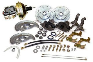 1964 1965 1966 1967 CHEVY 2 NOVA FRONT POWER DISC BRAKE CONVERSION KIT