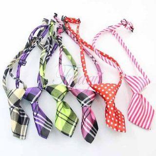 Pet Dog Puppy Kids Hamdsome Adjustable Bow Tie Necktie Tuxedo Costume