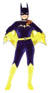 Womens Small Adult Gotham Girls Batgirl Costume   Authentic Batgirl