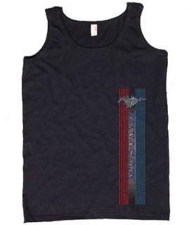 Ladies Tank Top * Ford Mustang Tee Shirt Womens T shirt