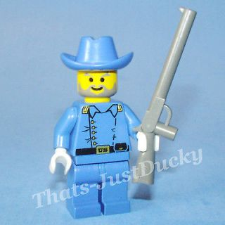 Cavalry Lieutenant and Rifle Civil War Soldier 6762 6769 MiniFigure