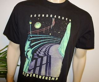 SOUNDGARDEN* vtg grunge rock concert tour t shirt (XL) Chris Cornell