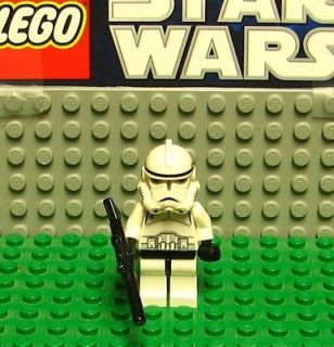 STAR WARS LEGO MINI FIGURE  MINI FIG   CLONE TROOPER  #7261   TURBO