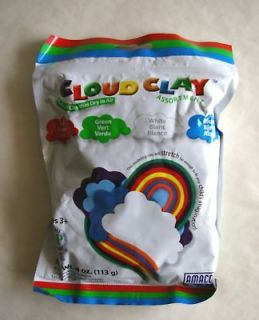 Cloud Clay Air Dry Stretchy 4 oz Select Color