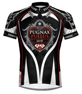 Primal Wear Fighting Chickens Cycling jersey Mens Short Sleeve with