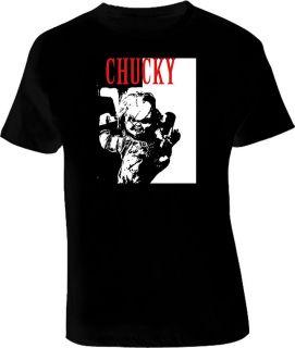 Chucky doll Horror movie scary T shirt