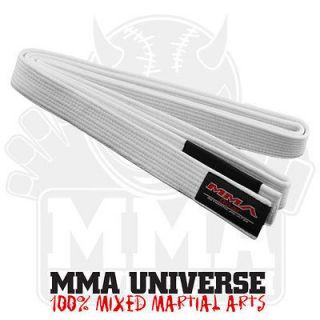 MMA Gear Brazilian Jiu Jitsu Belt   White   [MMA UFC BJJ GI Kimono]